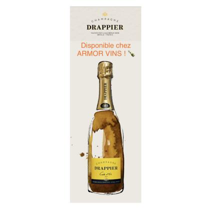 Champagne Drappier : disponible chez Armor Vins