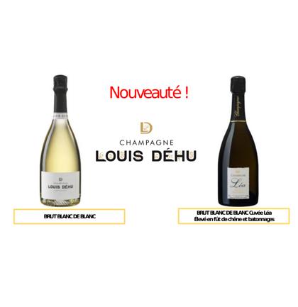 Nouveau : champagne Louis Déhu